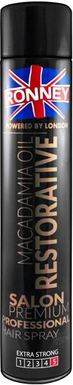 Lacca per capelli - Ronney Macadamia Oil Restorative Hair Spray
