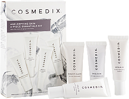 Profumi e cosmetici Set - Cosmedix Age Defying Skin 4-Piece Essentials Kit (f/cleanser/15ml + f/ser/15ml + f/ser/15ml + f/cr/15ml)