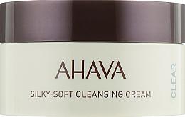 Profumi e cosmetici Crema viso detergente delicata - Ahava Time to Clear Ahava Silky Soft Cleansing Cream