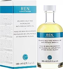 Profumi e cosmetici Olio da bagno - Ren Atlantic Kelp and Magnesium Anti-Fatigue Bath Oil