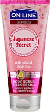Profumi e cosmetici Scrub corpo - On Line Senses Body Scrub Japanese Secret