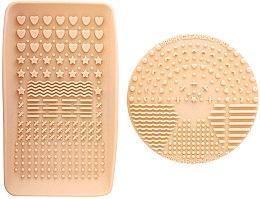 Profumi e cosmetici Detergente per pennelli - Nanshy Makeup Brush Cleaning Pad & Palette