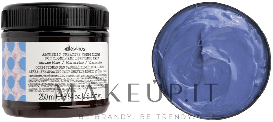 Davines Alchemic Conditioner Marine Blue - Balsamo per ...