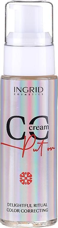 CC Crema viso - Ingrid Cosmetics CC Cream Put On Delightful Ritual Color Correcting