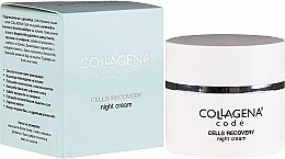 Profumi e cosmetici Crema viso, da notte - Collagena Code Cells Recovery Night Cream