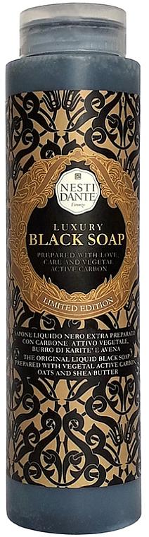 """Sapone liquido """"Nero di lusso"""" - Nesti Dante Luxury Black Soap"""