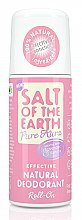 Profumi e cosmetici Deodorante roll-on naturale - Salt of the Earth Lavender And Vanilla Natural Roll-On Deodorant