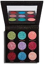 Profumi e cosmetici Palette ombretti glitterati - Makeup Revolution Pressed Glitter Palette Abracadabra
