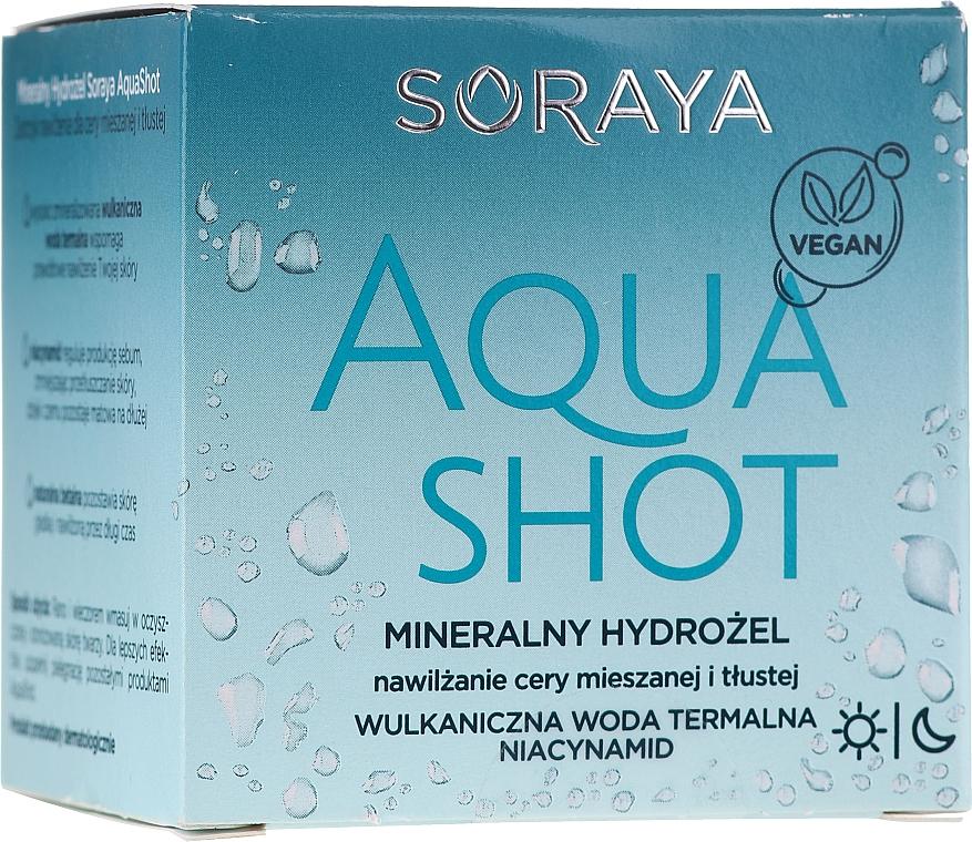 Hydrogel minerale viso - Soraya Aquashot