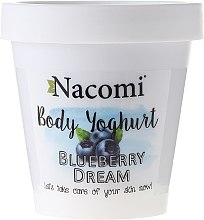 "Profumi e cosmetici Yogurt corpo ""Blueberry"" - Nacomi Body Yogurt Blueberry Dream"