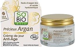 Profumi e cosmetici Crema viso anti-età, da giorno - So'Bio Etic Precieux Argan Anti-Age Day Cream