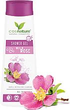 "Profumi e cosmetici Gel doccia curativo ""Rosa canina"" - Cosnature Shower Gel Wild Rose"