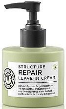 Profumi e cosmetici Crema per capelli - Maria Nila Structure Repair Leave In Cream