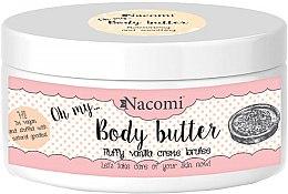 Profumi e cosmetici Burro corpo con esstratto di mandorle e vaniglia - Nacomi Body Butter Fluffy Vanilla Creme Brulee