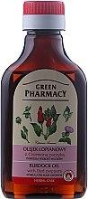 Profumi e cosmetici Olio di bardana con pepe rosso per la crescita dei capelli - Green Pharmacy