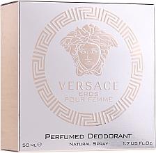 Profumi e cosmetici Versace Eros Pour Femme - Deodorante