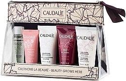Profumi e cosmetici Set - Caudalie Travel Set (water/30ml + cr/15ml + sh/30ml + sh/g/30ml + b/lot/30ml)
