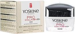 Profumi e cosmetici Crema da giorno per pelli secche e sensibili 60+ - Yoskine Classic Pro Collagen Day Cream 60+