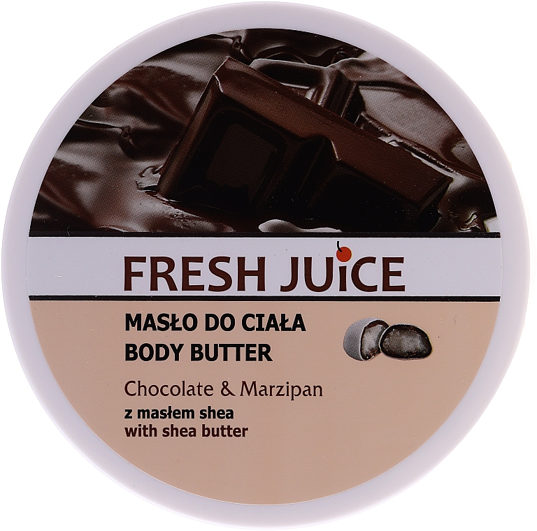 "Burro corpo ""Cioccolato e marzapane"" - Fresh Juice Body Butter Chocolate & Marzipan With Shea Butter"