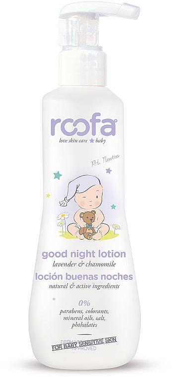 Lozione corpo alla lavanda e camomilla - Roofa Good Night Lotion