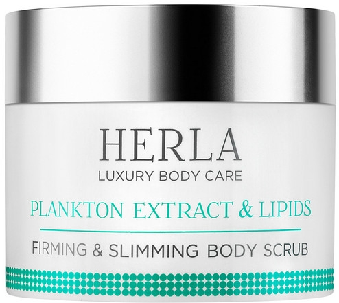 Scrub corpo rassodante e snellente - Herla Luxury Body Care Plankton Extract & Lipids Firming & Slimming Body Scrub