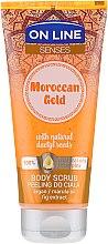 Profumi e cosmetici Scrub corpo - On Line Senses Body Scrub Moroccan Gold