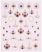 Profumi e cosmetici Adesivi per nail art - Peggy Sage Decorative Nail Stickers Luxury (1pz)