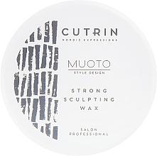 Profumi e cosmetici Cera modellante capelli - Cutrin Muoto Strong Sculpting Wax