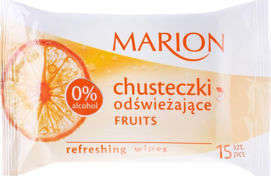 "Tovaglioli rinfrescanti ""Frutta"", 15 pz - Marion — foto N1"