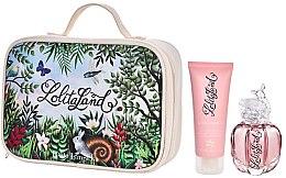 Profumi e cosmetici Lolita Lempicka Lolitaland - Set (edp/40ml + b/lot/75ml + bag)