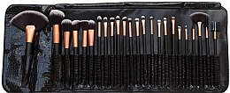 Profumi e cosmetici Set pennelli trucco, 24 pz - Rio Professional Cosmetic Make Up Brush Set