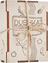 Profumi e cosmetici Shampoo solido per capelli da grassi a normali - Dushka