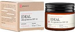 Profumi e cosmetici Crema viso rinforzante da giorno - Phenome Ideal Skin Protector Spf 10