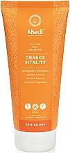 "Profumi e cosmetici Shampoo per capelli ""Nussgras"" - Khadi Shampoo Orange Vitality"