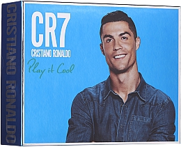 Profumi e cosmetici Cristiano Ronaldo CR7 Play It Cool - Set (edt/100ml + sh/gel/150ml + deo/spray/150ml)