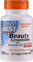 Profumi e cosmetici Capsule vegetariane per una pelle bella - Doctor's Best Beauty Ceramides with Ceramide-PCD