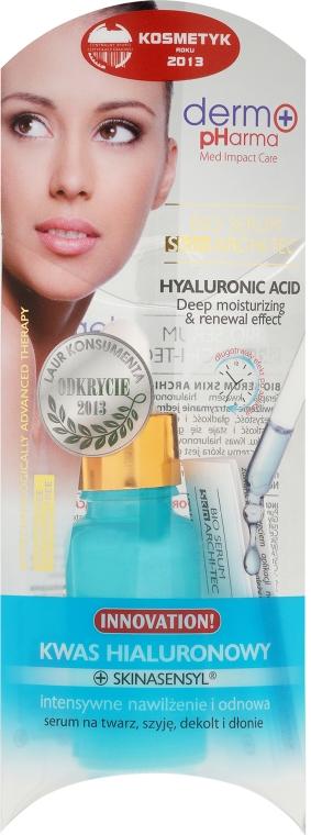Siero con acido ialuronico per viso, collo e décolleté - Dermo Pharma Bio Serum Skin Archi-Tec Hyaluronic Acid — foto N1