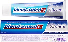 """Profumi e cosmetici Dentifricio """"Freschezza artica"""" - Blend-a-med 3D White Arctic Freshness"""