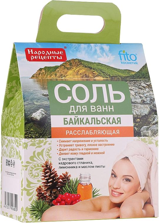 """Sale da bagno rilassante """"Baikal"""" - Fito Cosmetic"""