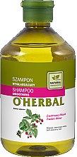 Profumi e cosmetici Shampoo levigante con estratto di lampone - O'Herbal Smoothing Shampoo