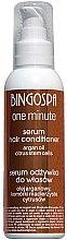 Profumi e cosmetici Siero-balsamo per capelli con olio di argan e cellule staminali di agrumi - BingoSpa Serum-Conditioner