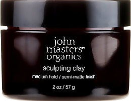 Profumi e cosmetici Argilla da modellare con effetto opacizzante - John Masters Organics Sculpting Clay Medium Hold Matte Finish