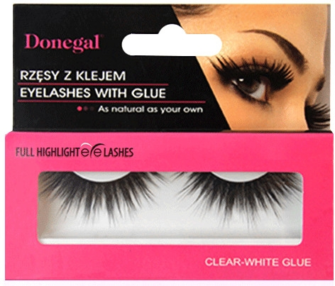 Ciglia finte con colla, 4472 - Donegal Eyelashes With Glue — foto N1