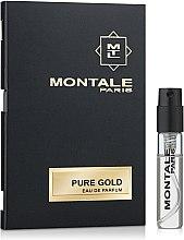 Profumi e cosmetici Montale Pure Gold - Eau de Parfum (Campioncino)