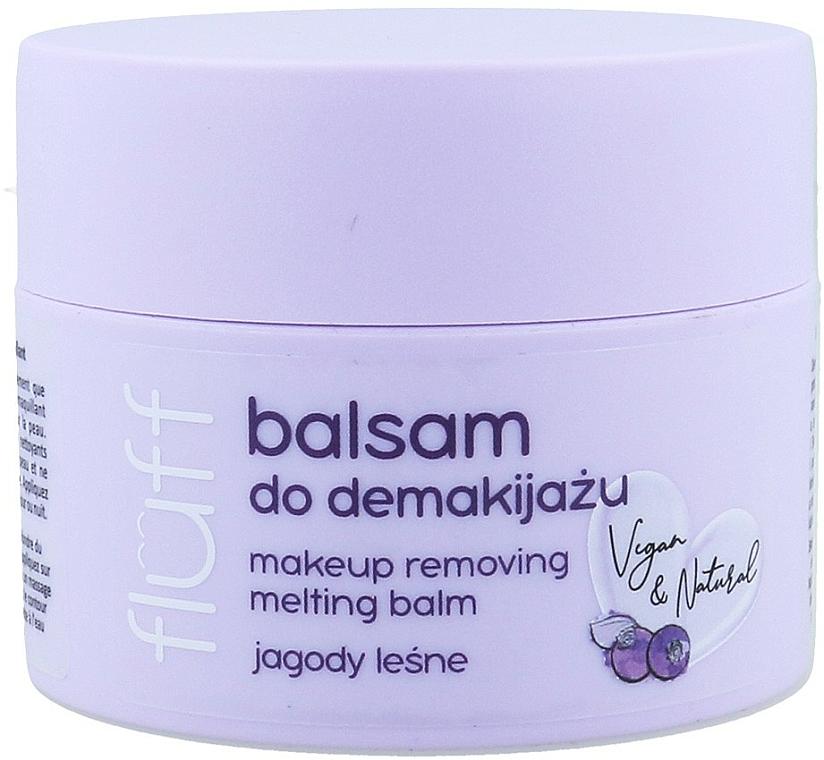 Struccante - Fluff Makeup Remover Balm Wild Blueberries