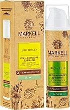 Profumi e cosmetici Crema viso con estratto di bava di lumaca, da giorno - Markell Cosmetics Bio-Helix Day Cream