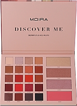 Profumi e cosmetici Palette trucco - Moira Discover Me Destiny Eye & Face Palette