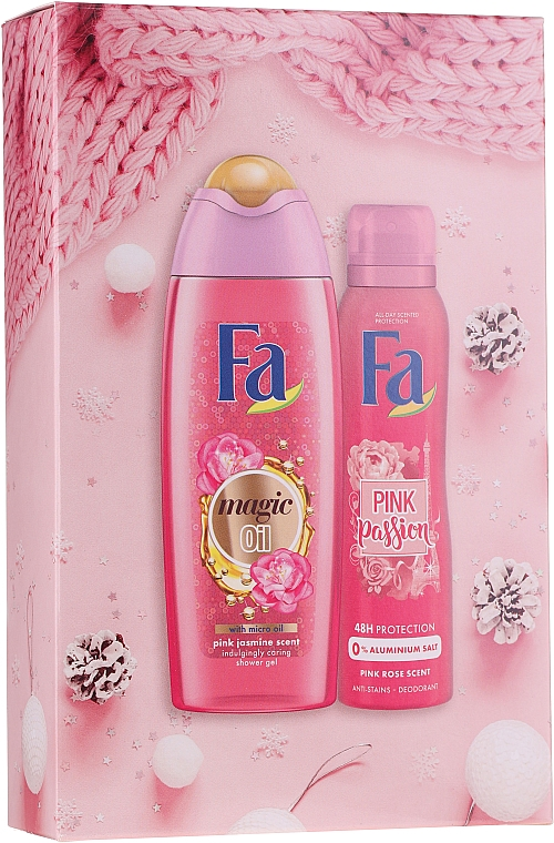 Set - Fa Pink Passion (sh/gel/250ml + deo/spray/150ml)