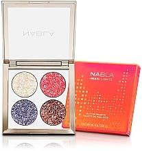 Profumi e cosmetici Palette di ombretti - Nabla Miami Lights Collection Glitter Palette