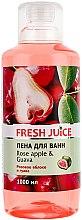 """Profumi e cosmetici Bagnoschiuma """"Mela rosa e guava"""" - Fresh Juice Rose Apple and Guava"""